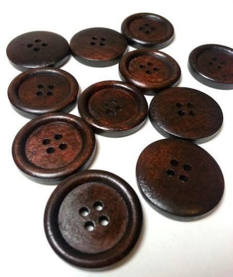 Lot de 10 boutons 3 cm #B1107