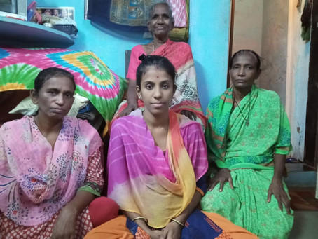 DHARAVI'S DAUGHTERS ARE COVID WARRIORS