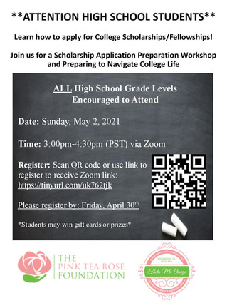 Annual Scholarship Application Preparation Workshop