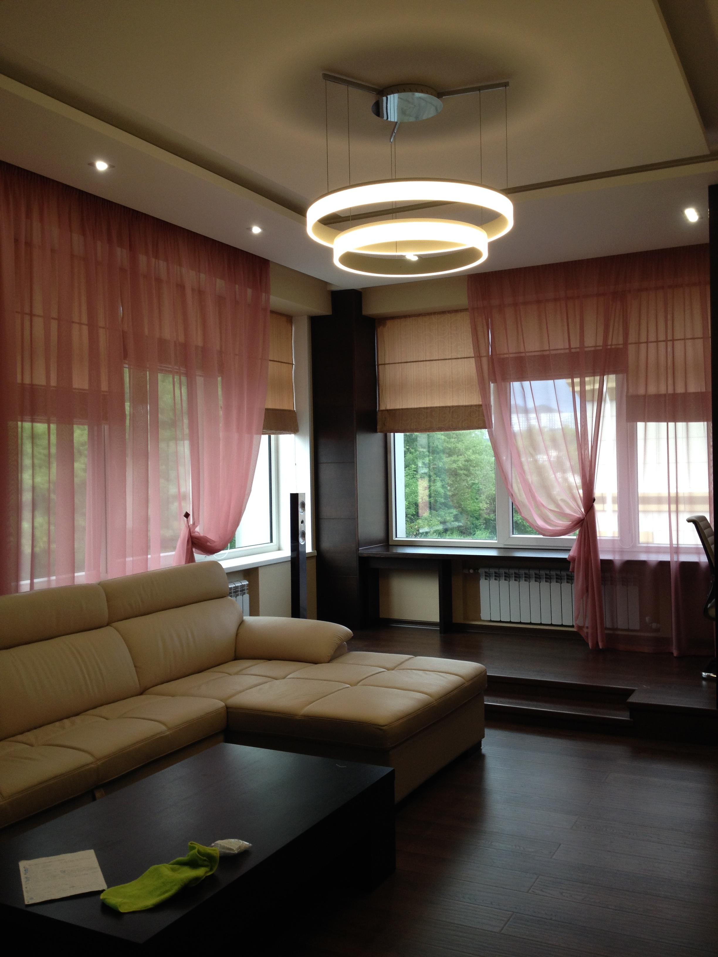 Текстильное оформление гостиных