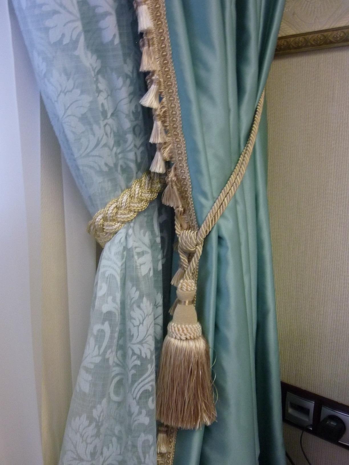 Текстильное оформление гостиной