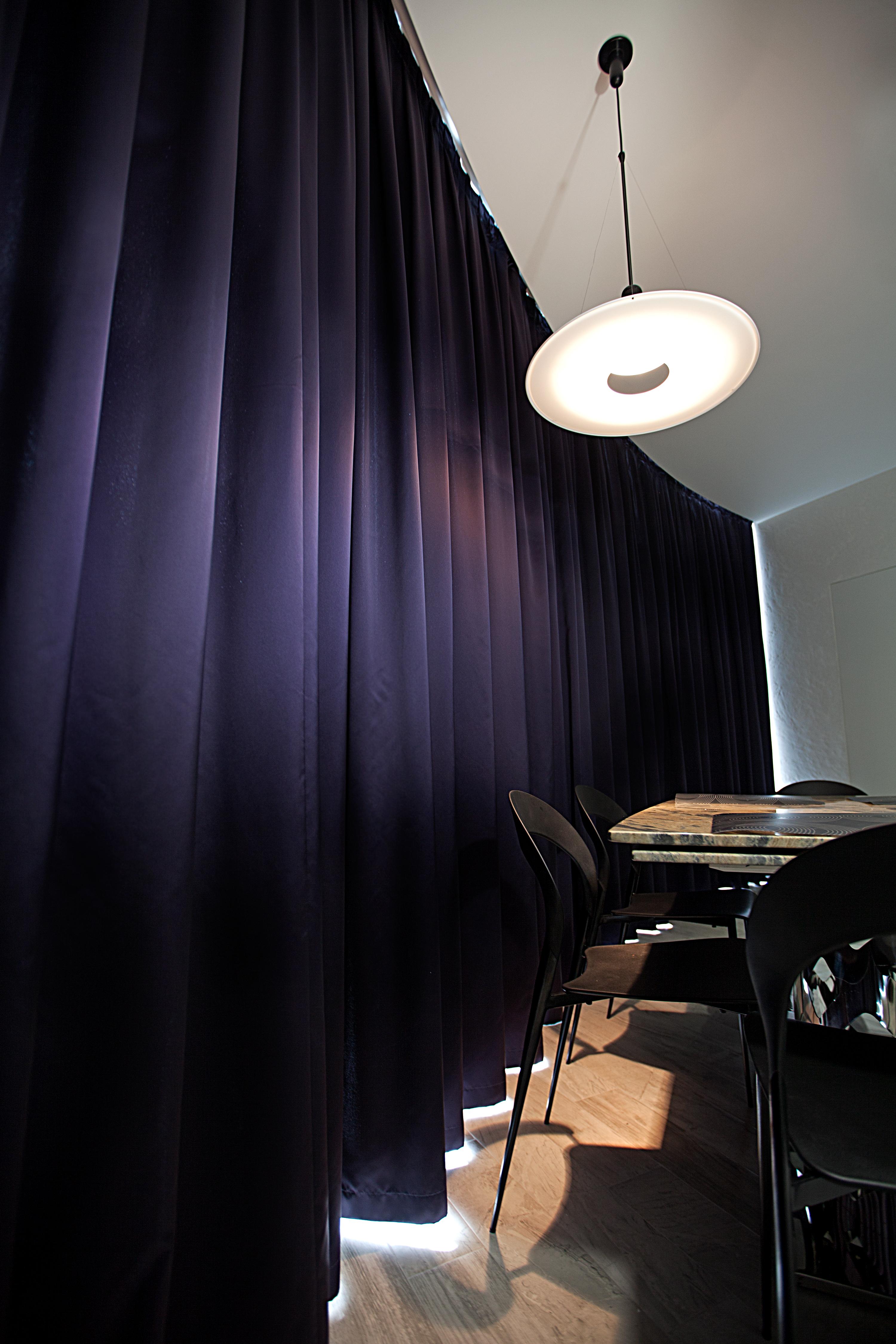 Текстильное оформление столовой