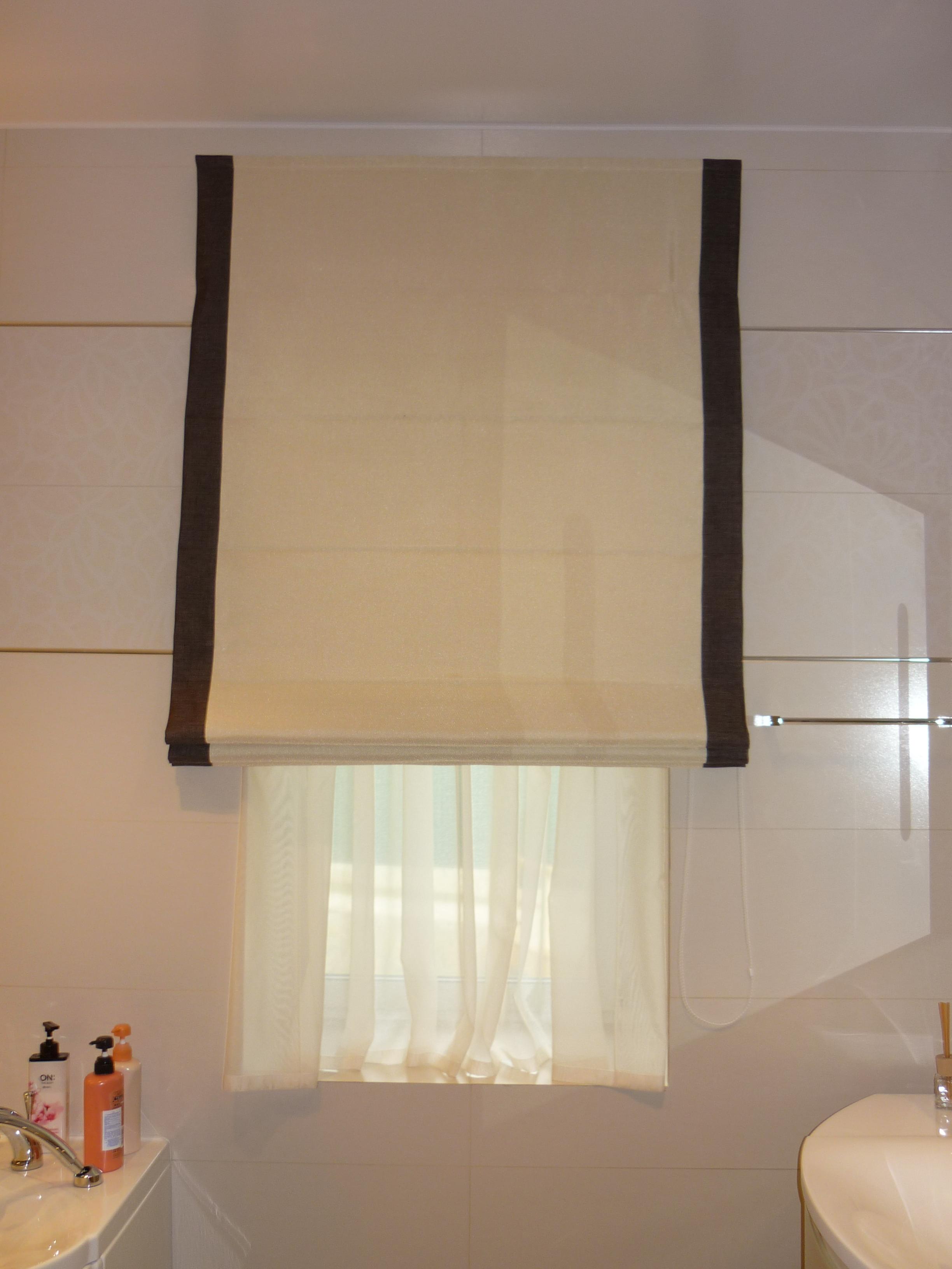 Текстильное оформление ванных комнат