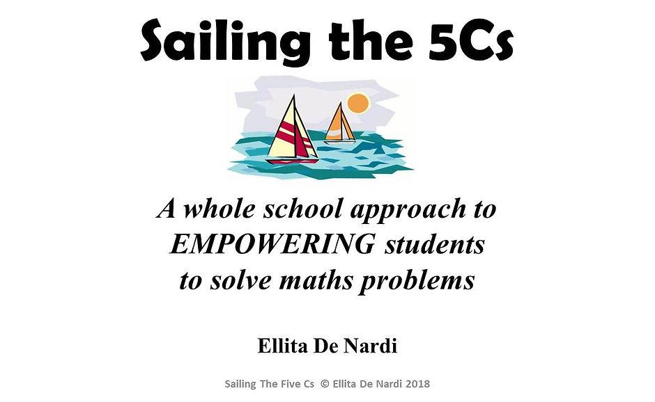 Sailing the 5Cs (eBook Version)