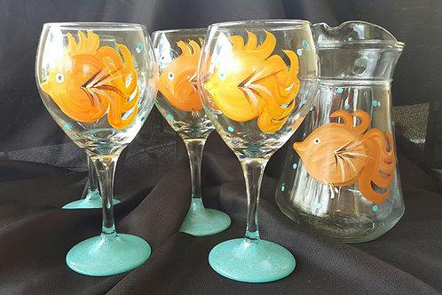 Orange KOI Fish