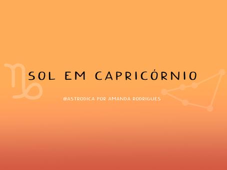 Sol em Capricórnio
