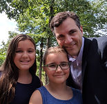 Dadvocacy Consulting Group Director of Communications Scott Beller and two daughters 2017