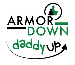 Armor Down Daddy Up logo