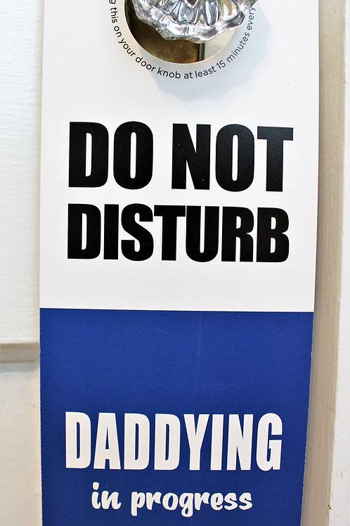 Daddying Door Hanger