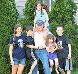 Dadvocacy Consulting Group founder Allan Shedlin with his five grandchildren