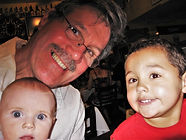 Dadvocacy Consulting Group Dadvisor Robert Richardson with two grandchildren