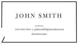 DoerDNA business cardBusiness Card 1 cop