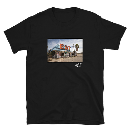 KGEPHOTO - Abandoned Restaurant - T-Shirt