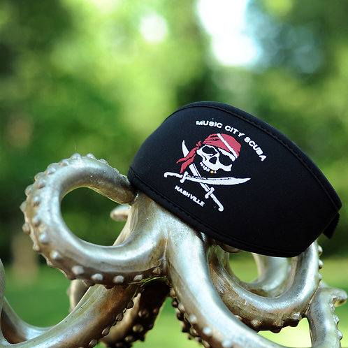 Mask Strap - Music City SCUBA Jolly Roger
