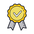 first class quality guarantee icon