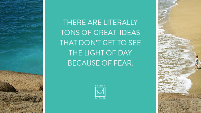 Here's The Thing About Fear