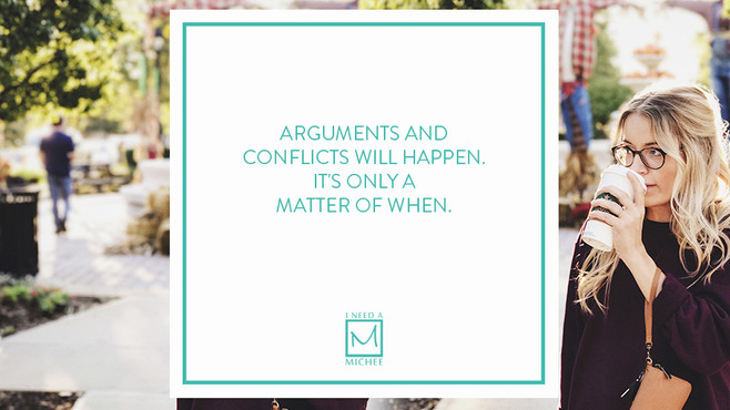 Resolving Arguments and Conflicts is a Two-Way Street