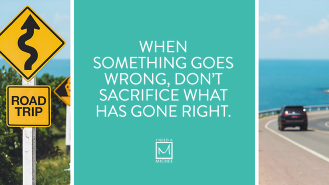 When Something Goes Wrong…