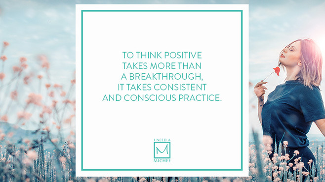 The Struggle Behind Being Positive