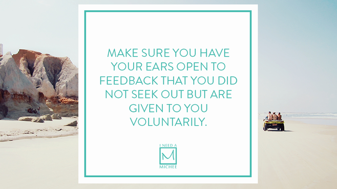 Do You Listen to Voluntary Feedback?
