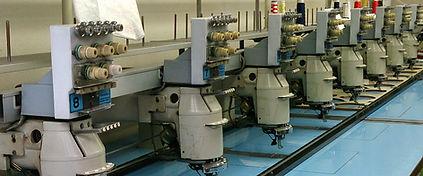 東京の刺繍工房J Factory|店舗の刺繍ミシン、当店の特徴