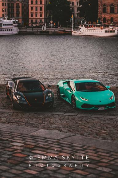 McLaren mp4-12 & Lamborghini Huracan