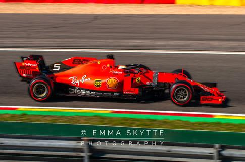 Sebastian Vettel - Belgian Grand Prix 2019
