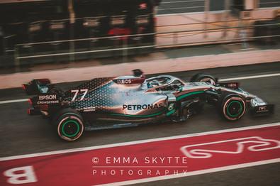 Valtteri Bottas - Barcelona winter testing 2020