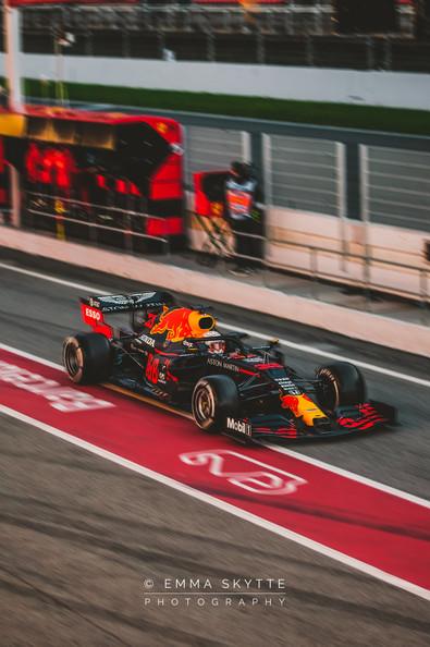 Max Verstappen - Barcelona winter testing 2020