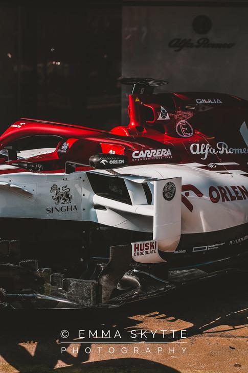 Alfa Romeo - Barcelona winter testing 2020