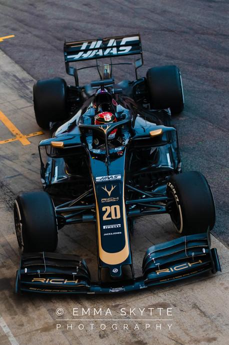 Kevin Magnussen - Barcelona testing 2019