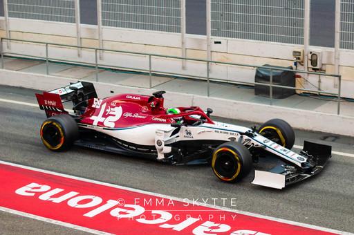 Antonio Giovinazzi - Barcelona testing 2019