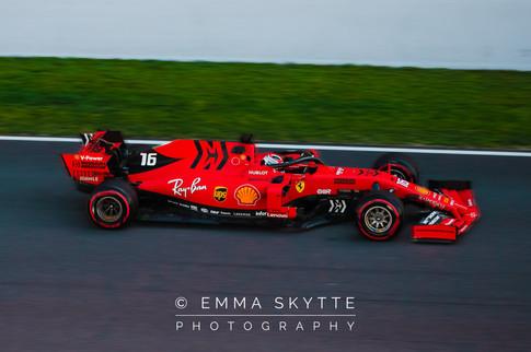 Charles Leclerc - Barcelona testing 2019