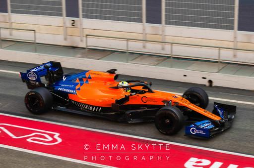 Lando Norris - Barcelona testing 2019
