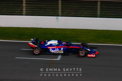 Alexander Albon - Barcelona testing 2019