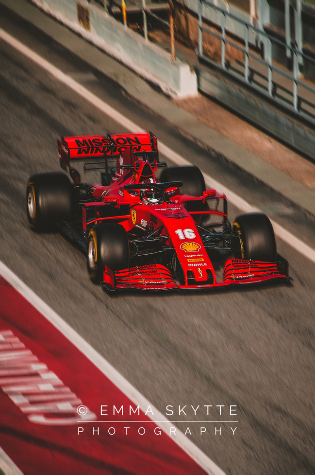 Charles Leclerc - Barcelona winter testing 2020