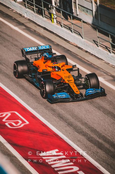 Carlos Sainz - Barcelona winter testing 2020