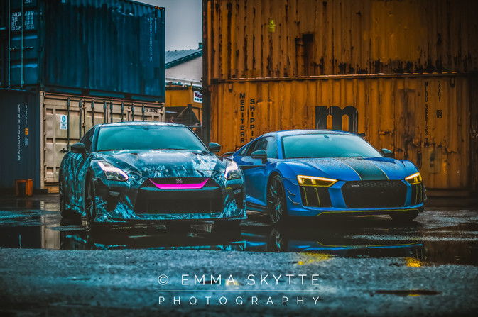 GTR & R8 V10