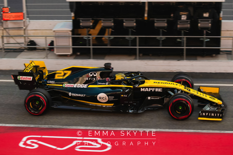 Nico Hülkenberg - Barcelona testing 2019