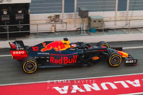 Pierre Gasly - Barcelona testing 2019