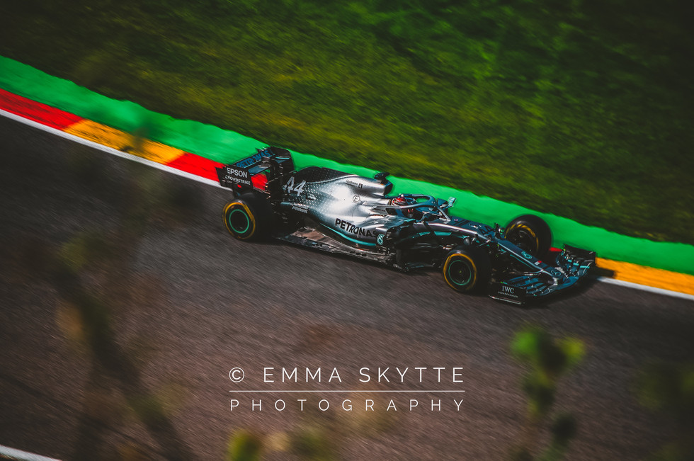 Lewis Hamilton - Belgian Grand Prix 2019