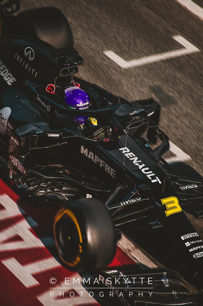 Daniel Ricciardo - Barcelona winter testing 2020