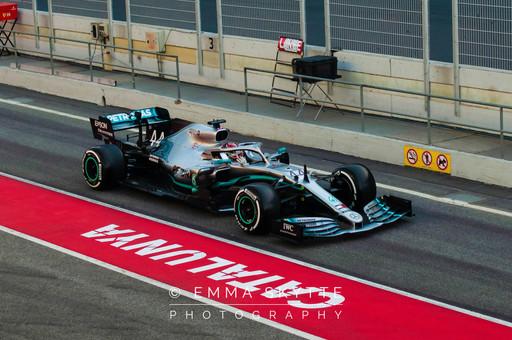 Lewis Hamilton - Barcelona testing 2019