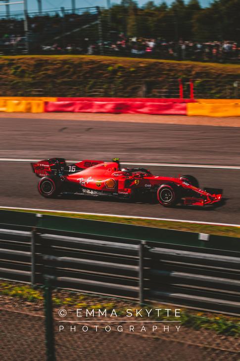 Charles Leclerc- Belgian Grand Prix 2019