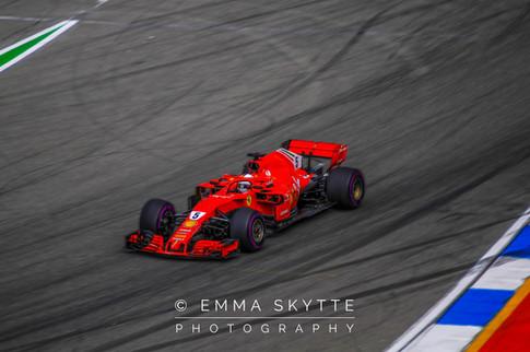 Sebastian Vettel - Hockenheim 2018