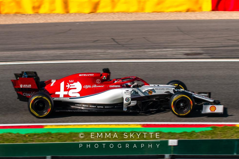Kimi Räikkönen - Belgian Grand Prix 2019
