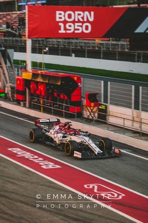 Robert Kubica - Barcelona winter testing 2020