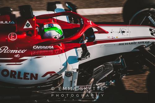 Antonio Giovinazzi - Barcelona winter testing 2020