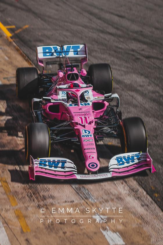 Sergio Perez - Barcelona winter testing 2020