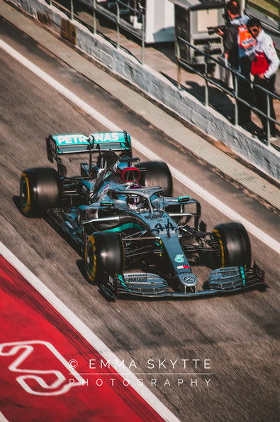 Lewis Hamilton - Barcelona winter testing 2020